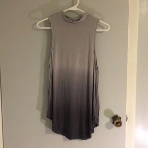 Grey ombré American Eagle tank top size M